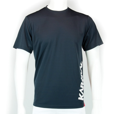 Мужская футболка для спорта Karakal Футболка Karakal Pro Technical Graphite T-Shirt