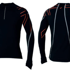 Беговая футболка в Питере Asics Akashi 1/2 Zip LS Top Men's