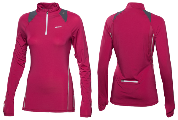 Беговая футболка Asics 1/2 Zip LS Top Women's
