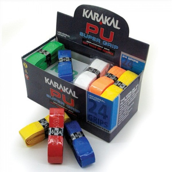 намотка на ручку ракетки Karakal PU Super Grip Assorted